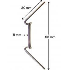 MacGreen® Glasklemme Standard H 12 (25 Stück)