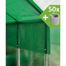 Schattierungsgewebe (300 cm x 400 cm + 50 Clips) MacGreen®
