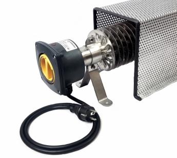 Rippenrohrheizung - Frostwächter (500 Watt) mit Kabel, Stecker und Schutzkorb