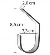 MacGreen® Alu-Stabhalter H 20 (3 Stück)