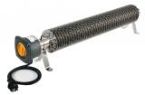 Rippenrohrheizung (1500 Watt) mit Kabel und Stecker
