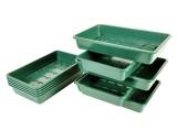 MacGreen® PVC-Saatschalen (10 Stück)