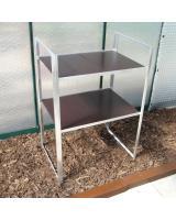 MacGreen® Tisch (Breite 65 cm | 2 Böden)