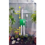 MacGreen® Gewächshaus Umluftheizung H 54-30 inkl. Thermo-Timer