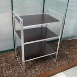 MacGreen® Tisch (Breite 65 cm | 3 Böden)
