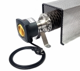 Rippenrohrheizung - Frostwächter (1000 Watt) mit Kabel, Stecker und Schutzkorb