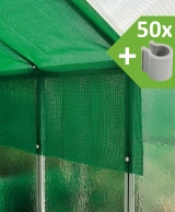 MacGreen Shade netting (300 cm x 400 cm + 50 pvc-clips)