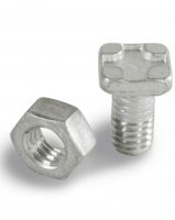 Square head bolts and nuts H 17-11 (15 pieces)